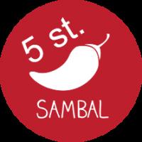 Sambal - zak van 5